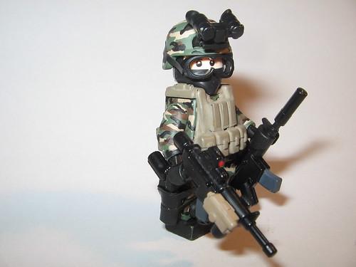 Custom minifig Marine Force Recon