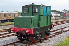 Hibberd 0-4-0DM No. 3765 Tarmac (PaulHP) Tags: road station tarmac train diesel no centre buckinghamshire railway steam locomotive bucks quainton hibberd 3765 040dm