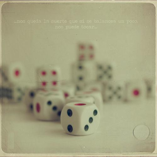 ...nos queda la suerte que si se balancea un poco nos puede tocar...(E.Bunbury) by Vanina Vila {Photography}