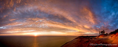 ... and the sun set . . . (Ken Scott) Tags: sunset panorama usa michigan lakemichigan greatlakes freshwater voted sleepingbeardune leelanau fhdr sbdnl sleepingbeardunenationallakeshore mostbeautifulplaceinamerica nearthe45thparallel