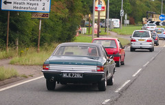 Mk3 on the A5 (Lady Wulfrun) Tags: ford cortina cannock 20 a5 mkiii hednesford mk3 mk111 gxl thetruf