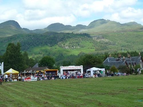 Highland Setting for Killin Highland Games
