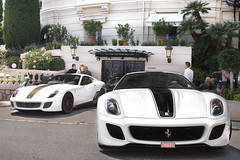 The car of Monaco. (Alex Penfold) Tags: auto camera brown white black paris france cars alex sports car sport mobile canon square french photography eos hotel photo cool flickr riviera image awesome flash stripe picture super ferrari spot du casino monaco exotic photograph spotted hyper gto carlo cote monte rims supercar spotting numberplate exotica sportscar sportscars supercars combo penfold dazur 599 spotter 2011 hypercar 60d hypercars alexpenfold 9edv699