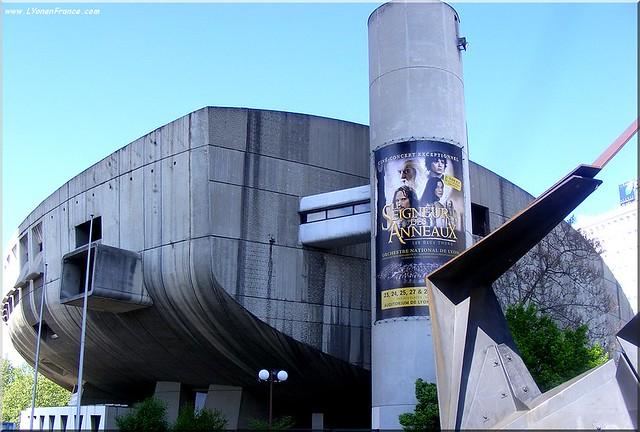 L'auditorium Maurice Ravel à Lyon
