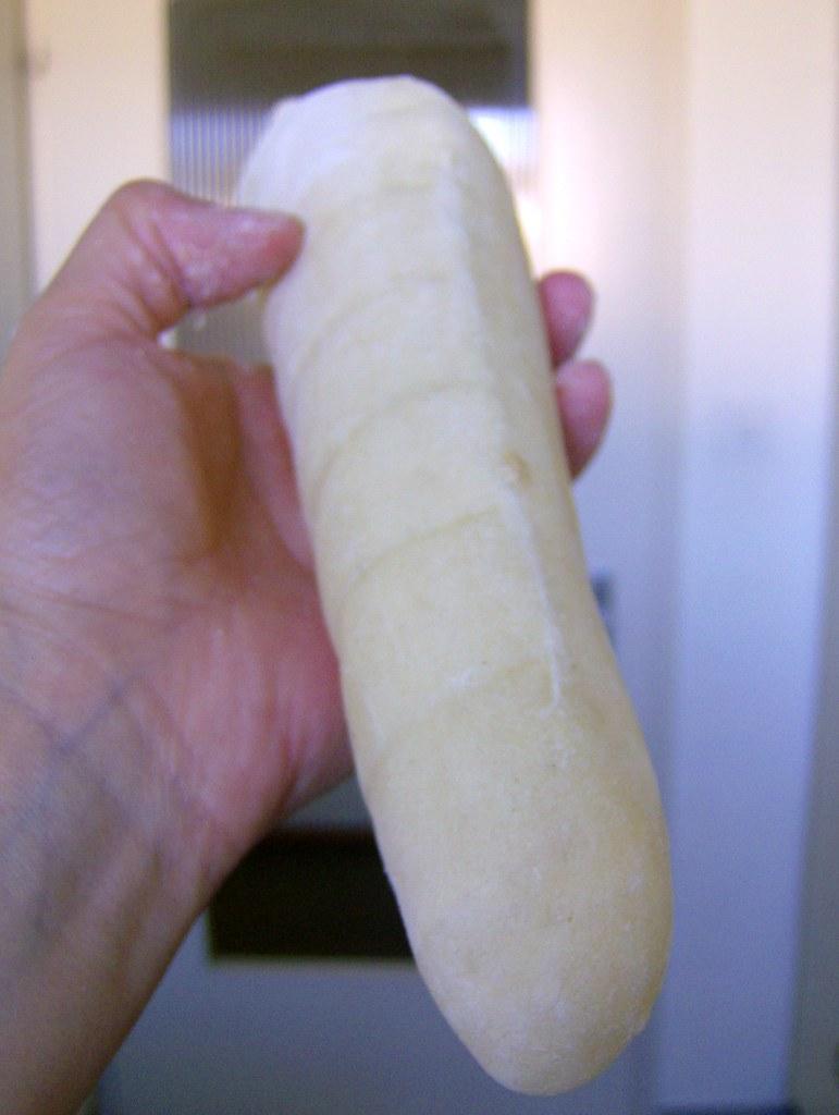 Pan pita recién horneado