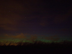 A record shot (D.Y) Tags: scotland glow looking fife north aurora toolate faint greenish missedit takenfromthemiddleoftheroad