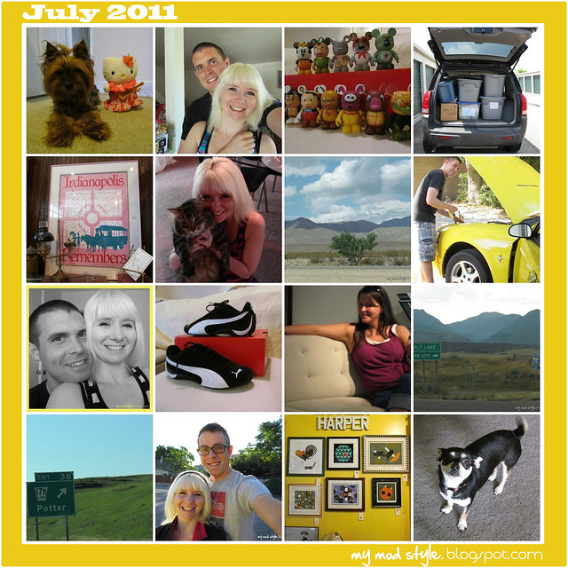 Monthly Mosaic July 2011