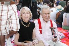 Stylish Elderly Couple (shaire productions) Tags: photo image candid photograph imagery