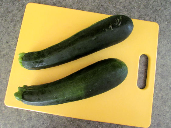 Two Zucchinis Walk Into a Bar