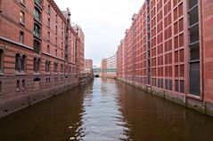 _DSC8995 (durr-architect) Tags: city water port germany district hamburg free goods warehouse transfer neogothic speicherstadt zone warehouses customs redbrick