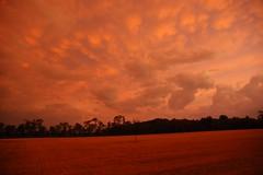 Sunset (tlucal) Tags: sky orange clouds country subset kimballohio monroevilleohio