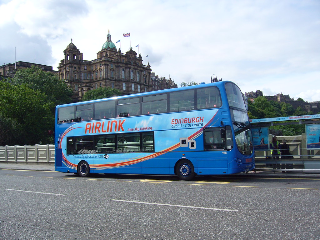 Lothian Buses 948 Airlink Volvo Wright