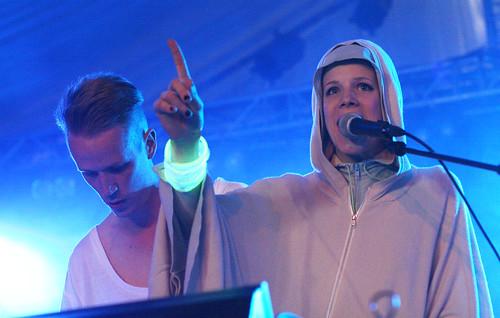 Sandra Kolstad på Øyafestivalen 2011