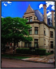 Chicago IL ~  Prairie Avenue District ~ 2002 (Onasill ~ Bill Badzo) Tags: county 2002 usa house chicago pope architecture illinois construction district south side s row il ave restored mansion prairie avenue hdr preservation millionaire nrhp onasill