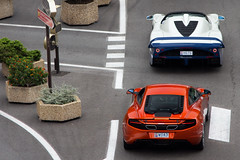 Mc. (Alex Penfold) Tags: auto camera blue orange white france cars alex sports car sport mobile canon french photography eos photo cool flickr riviera image awesome flash picture super spot monaco exotic photograph mclaren spotted hyper carlo cote monte supercar mc12 maserati spotting mp4 numberplate exotica sportscar sportscars supercars combo penfold dazur spotter 2011 12c hypercar 60d hypercars h676 alexpenfold woa3