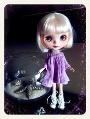 Eija looks good with purple