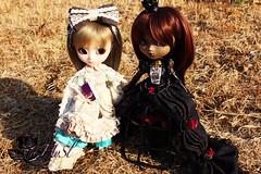 110814.-Kika y Sade (HyS) Tags: alice queen romantic pullip another wonderland