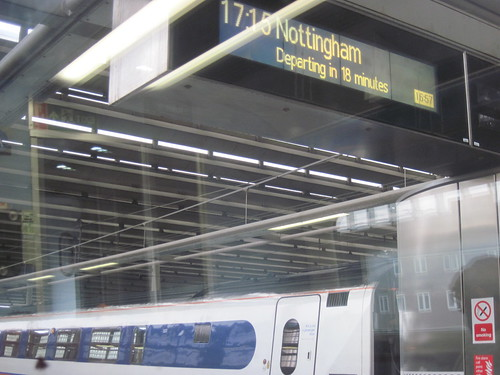 Nottingham-Bound Train