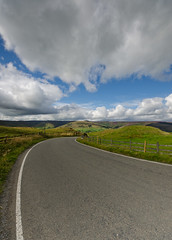 The Road to Edale (Chris. W) Tags: sky test nikon shot wide sigma 8mm ultra edale hsm 816mm d7000