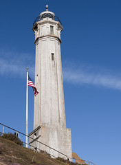 Light House and Flag Pole (dcnelson1898) Tags: island nationalpark ruins prison historical alcatraz sanfranciscobay nationalparkservice federalprison