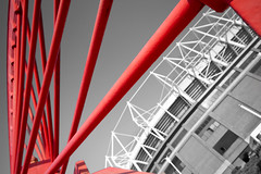 Sunderland AFC (CWhatPhotos) Tags: pictures city red sky colour art wheel canon that lens eos football foto with angle image artistic zoom photos stadium wide picture sigma images pit have part fotos 7d coloring 1020mm which colouring afc partial sunderland selective colliery stadia wearmouth safc cwhatphotos