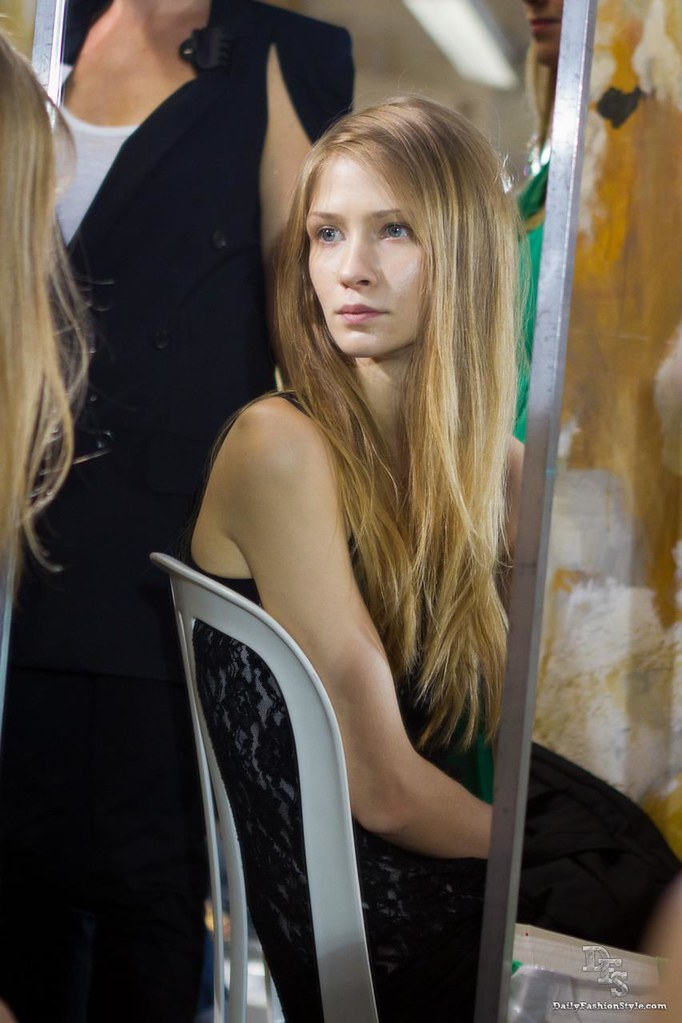 Backstage @ Lutz Ready To Wear Paris Fashion Week S/S 2012
