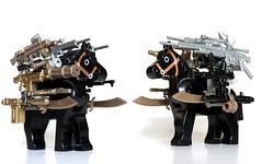 The Pony Terminator (*Clone Command* Collectable Minifigures) Tags: horse lego pony pigs vs ba terminator versus brickarms