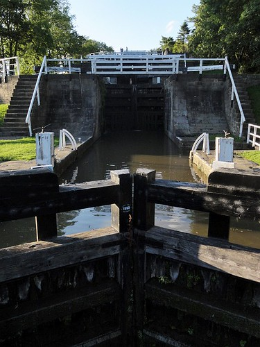 Locks on the Leeds Liverpool Canal