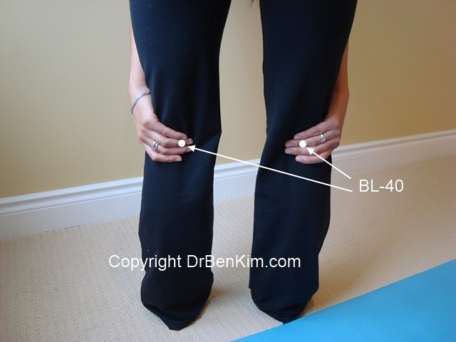 How to use Acupressure to Improve Blood Flow to Your Legs
