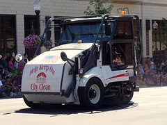IL - City of Aurora - Street Cleaner (Inventorchris) Tags: street city holiday car illinois downtown day 4th july parade il aurora vehicle cleaner independence emergency 2011