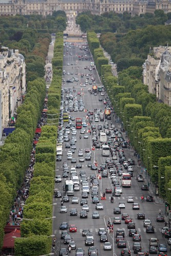 View From Arc de Triomphe
