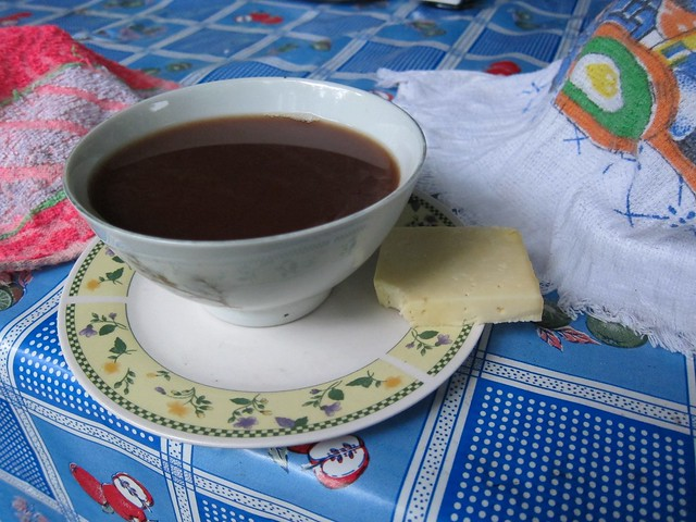 Chocolate y Queso