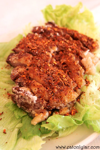 Crispy lamb breast with ground chili (香酥羊腩), .cn
