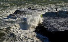 Muriwai Beach - Extreme Fishing (Skunkzie) Tags: delete10 delete9 delete5 delete2 fishing waves delete6 delete7 save3 delete8 delete3 delete delete4 save save2 save4 beaches canon5d delete11 mkii muriwai 24105 delete12