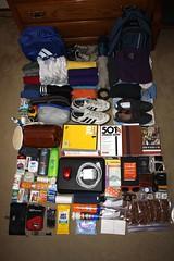 Everything I took to study abroad / Todo lo que traje conmigo para estudiar en el extranjero