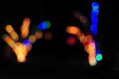 A tree of Lights creating an beautiful Art,