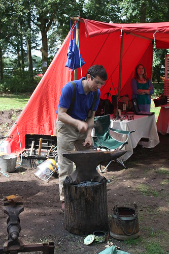 Holkham Forge demonstration