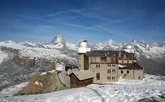 Gornergrat (Katka S.) Tags: sky panorama house snow mountains alps building up rock architecture clouds switzerland peak observatory alpine gornergrat zermatt matterhorn wallis valais