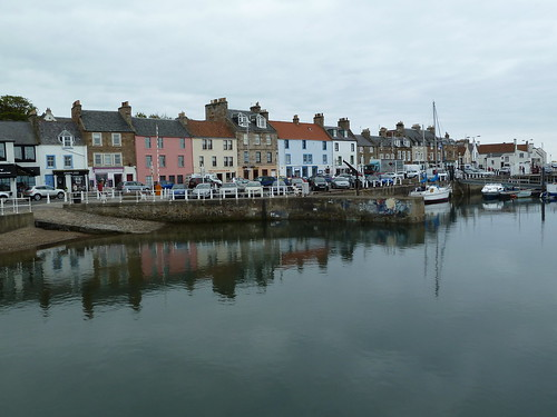 Anstruther Harbour, Fife Coast