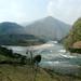 No caminho entre Kathmandu e Pokhara