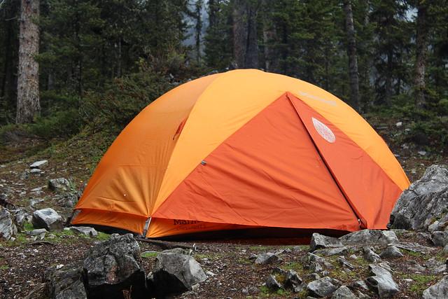New Marmot Tent