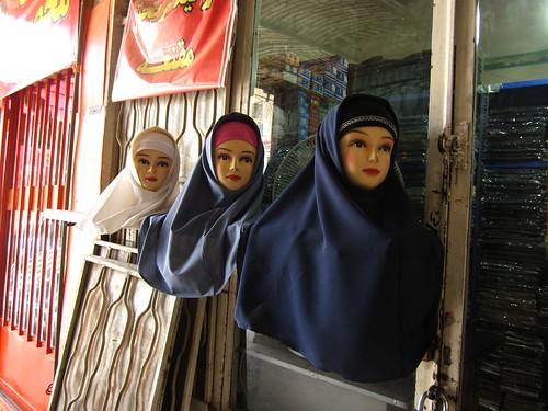 Hijab models