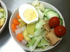 朝食サラダ(2011/7/14)