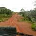 Estrada que nos leva a Floresta Tropical africana