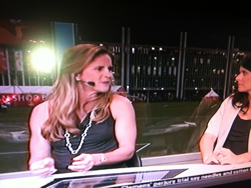 Brandi Chastain Is Hot and Buffed On ESPN!