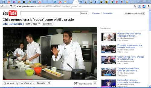 video sabores de chile