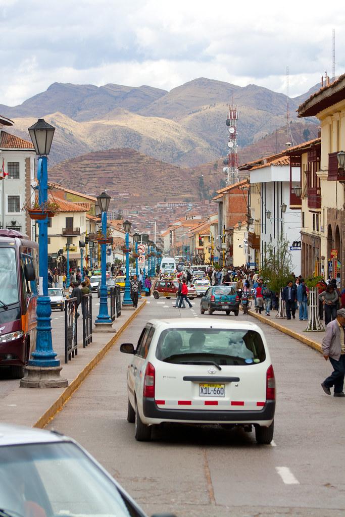 Avenida Sol, Cusco