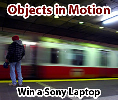 Objects in Motion Photo Contest on Lenzr.com