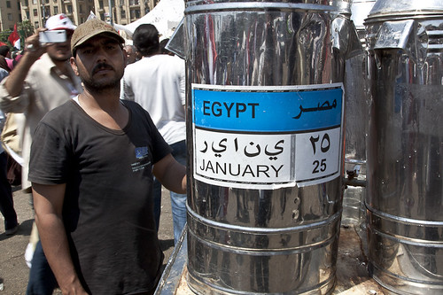 Vendor in Tahrir