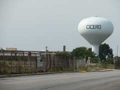 CICERO (floozefactor) Tags: tower water watertower cicero chicagoland